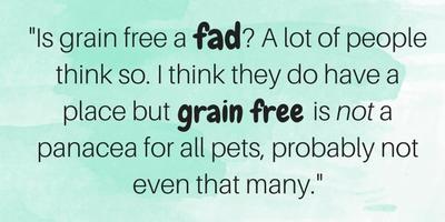 health benefits of grain free foods