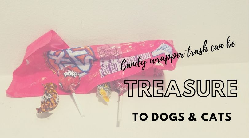 Candy and candy wrappers
