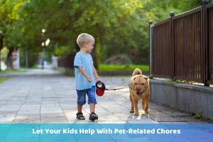 have kids walk dogs pandemic